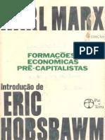 MARX, Karl - Formações Economicas Pré-Capitalistas