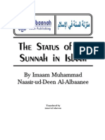 The Status of the Sunnah in Islaam – by Imaam Al-Albaanee