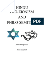 Hindu Pro-Zionism and Philo-Semitism