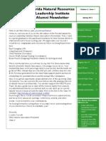 Spring 2012 FNRLI Alumni NewsletterFINAL