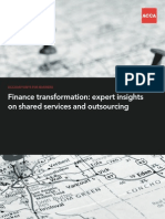 Expert Insights Shared Services Outsourcing