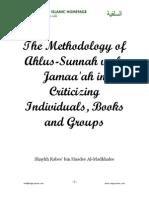 The Methodology Criticizing