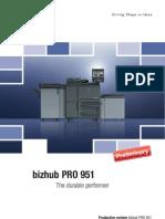 Brochure Bizhub PRO 951
