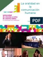 La oralidad en la comunicación