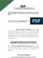 AUXILIO DOENÇA ROSALVO MODELO GERAL