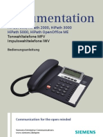 Analoge Telefone an HiPath 3000 - Handbuch