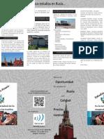 Brochure EstudieEnRusia