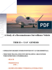 A Study of Reconnaissance Surveillance UAV