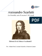 Alessandro Scarlatti Johann, Lu, Fran