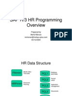 SAP HR Programming