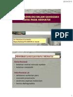 Dr Mardiana - Peran Radiologi Dalam Gangguan Nafas Pada Neonatus