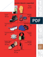 Catálogo de Vestuario, Protección Laboral y seguridad