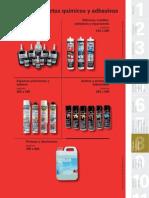 Catálogo de Adhesivos y Productos Quimicos