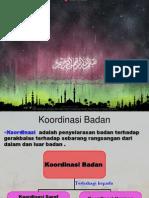 Koordinasi Badan (Bm)