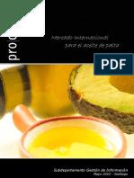 Prochile Mercado Internacional Para El Aceite de Aguacate