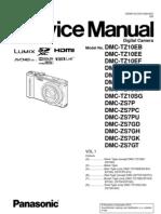 DMC-TZ10(ZS7) Service Manual