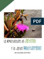 COLODRO (2012) - La Arquitectura de Jardines y el Jardín Mediterráneo