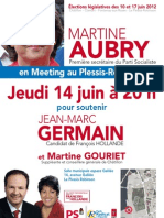 Invitation Aubry BD