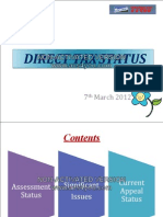 DT Status Final 7th March21