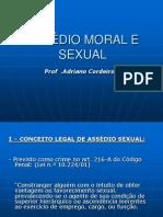 Assedio Sexal e Moral