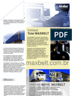 Max Belt Catalogo_espanhol