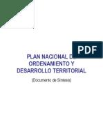 Plan Nacional de Ordenamiento Territorial