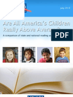 Are All America's Children Really Above Average? A comparison of state and national reading assessments