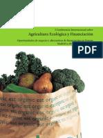 Agricultura Ecologica y Financiacion