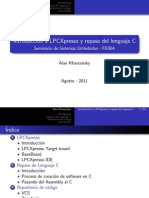 Sistemas Embebidos-2011 2doC-Intro a LPCXpresso y Repaso Lenguaje C-Kharsansky