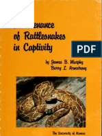 Maintenance of Rattlesnakes