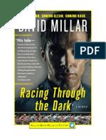 Cycling Memoir - Racing Through the Dark by David Millar - Read an Excerpt!
