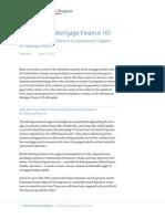 International Mortgage Finance 101