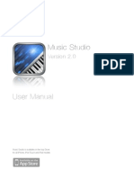 Music Studio v2 0 User Manual