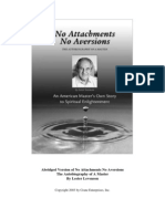 No Attachments No Aversions by Lester Levenson