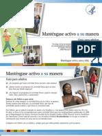 Mantenerse Activo - Booklet