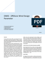 OWID - Offshore Wind Design Parameter