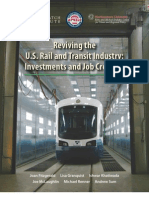 Reviving the U.S. Rail and Transit Industry