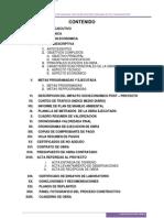 Informe de Liquidacion de Obra Final