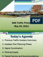 DAG Traffic Primer Meeting