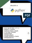Una pequeña introducción a Python