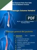 Neurología - Patología Columna Vertebral