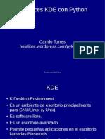Interfaces KDE con Python