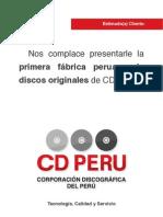 Brochure Cdperu
