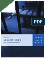 So Long as They Die