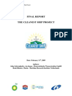 The Cleanest Ship Report