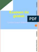 Examen Global de Tic.