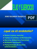 Endotelio y Ejercicio