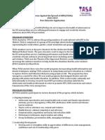 TASA Application 12-13