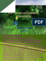 2012 top ten gadgets ecologicos