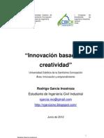 Innovación basada en creatividad ACHEII. Rodrigo García